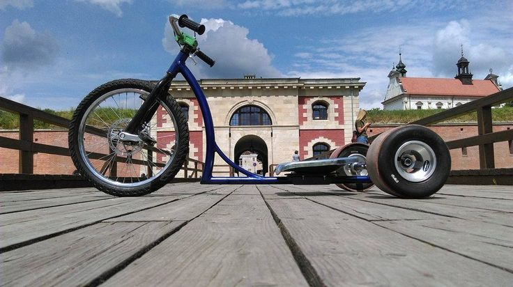 Dizzy Star Drift Trike Red Baron Frame