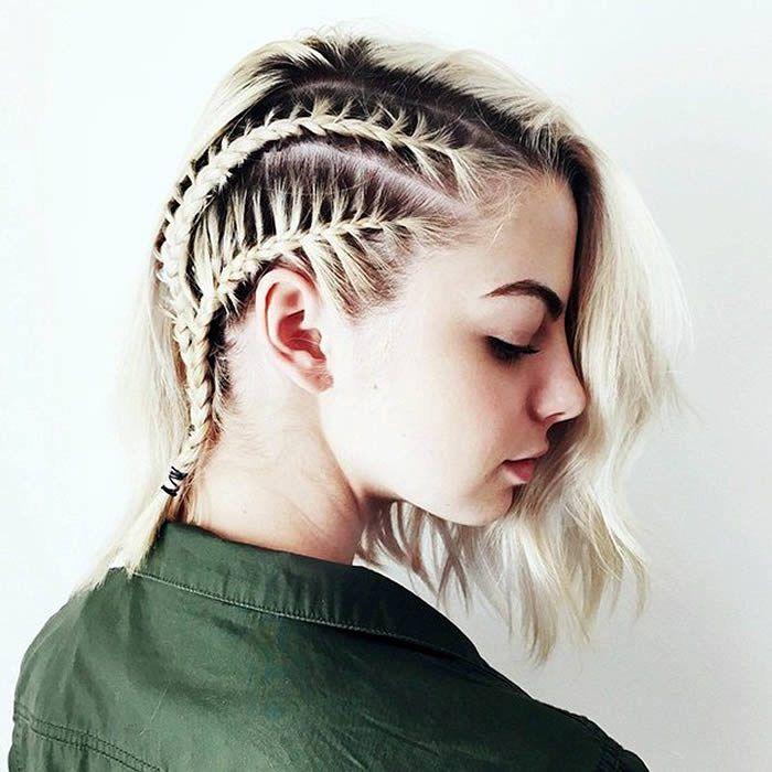 cool Смелые прически на короткие волосы (50 фото): стильно и быстро Читай больше http://avrorra.com/pricheski-na-korotkie-volosi-foto/