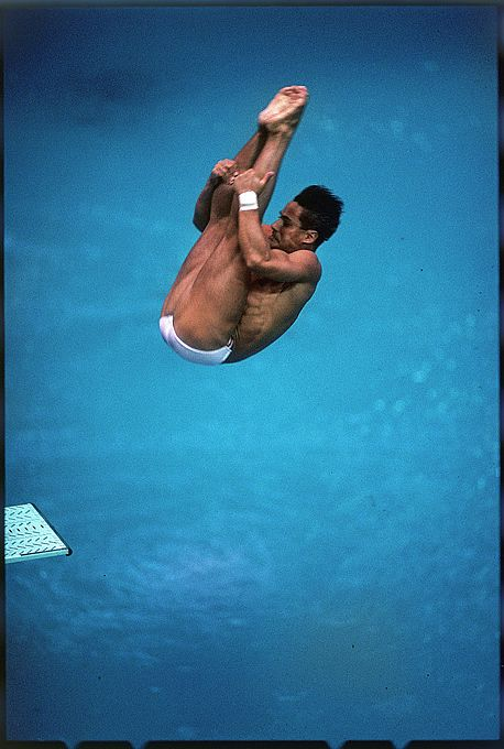 Greg Louganis - Diving, United States - Top 50 Olympians...