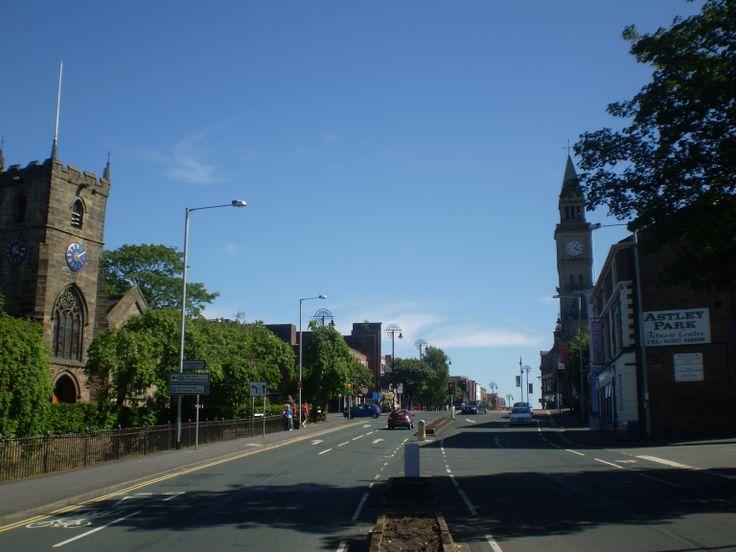 Chorley, Lancashire.