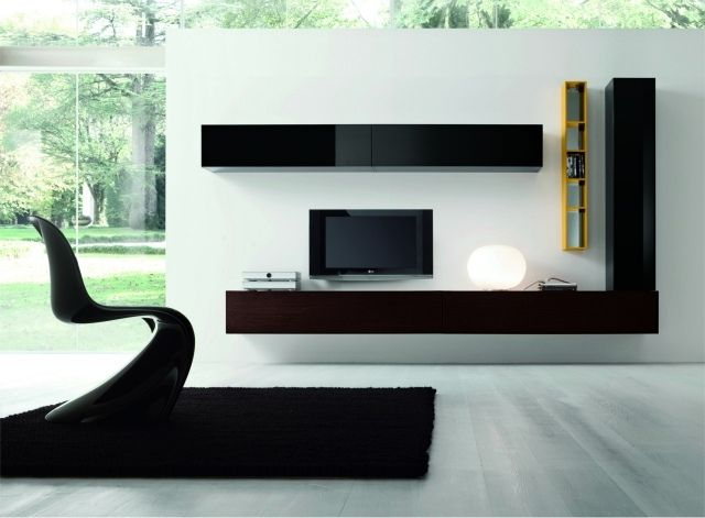 Meuble Tv Suspendu 25 Idees Pour Un Interieur Elegant Meuble