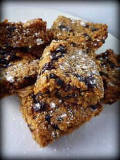 Mincemeat Flapjacks | Girl Interrupted Eating