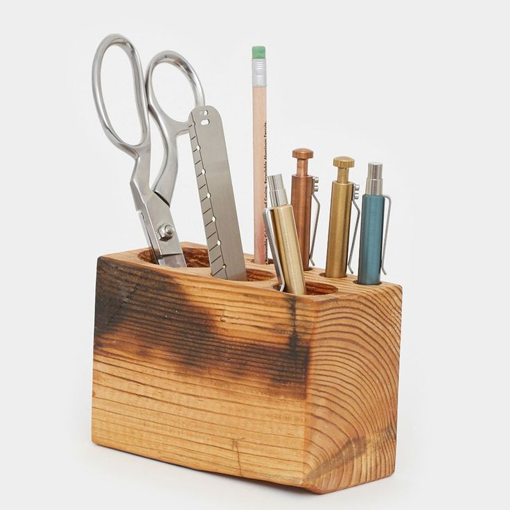 The Desk Caddy organizer by Peg and Awl Built - Cool Material - 1