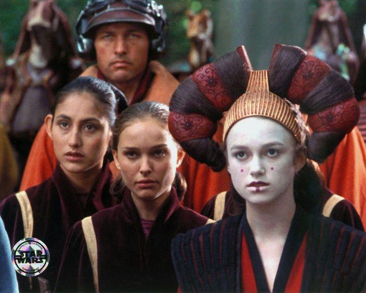 Natalie Portman and Keira Knightley - Star Wars: Episode I - The Phantom Menace (1999)