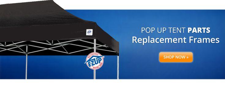ez up replacement frame pop up tent parts