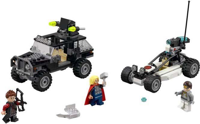 Lego mobil tempur