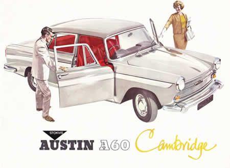 "AUSTIN A60 CAMBRIDGE (1961).  Last of the ""A"" Austins.  http://www.foldermuseum.nl/blfolders/austin/austinoverzicht.shtml"