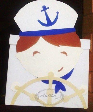Gift Box Unique Navy uniform ِفن اسعاد الاخرين  Antika Store  Love Of Brauty <3