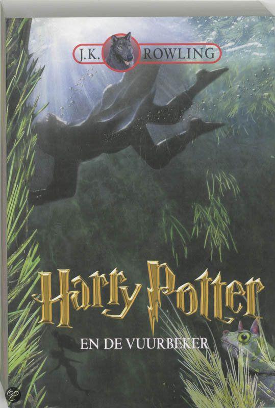 Harry Potter en de vuurbeker, JK Rowling.