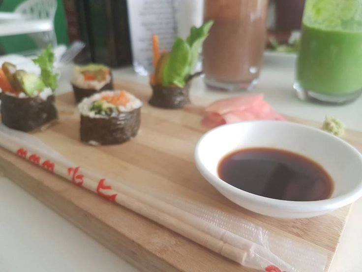 Eat at The Green Side Cafe (Vegan)