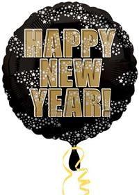 Happy New Year Stars, Folyo Balon Parti Paketi tüm özel gün ve partileriniz için Folyo balon, uçan balon, balon buketi, parti balonu, temalı balon, balon süsleme