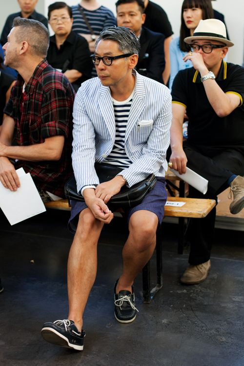 My Favorite Off-Runway Look, Paris « The Sartorialist #fashion