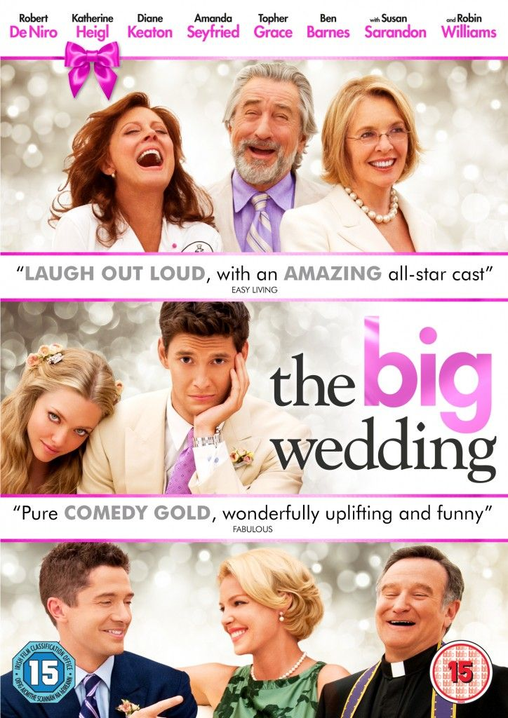 3 Copies of The Big Wedding On DVD to be Won