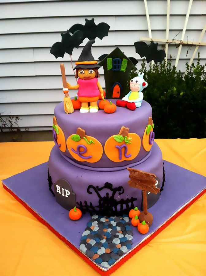 halloween birthday cake  Birthday cakes For Toddlers &Teens /Decora ...