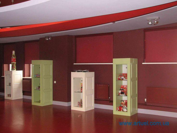 Компания Артуэль выиграла тендер на поставку и монтаж тканевых ролет в музее бутылки Coca-Cola на заводе по производству Кока-Колы в Киевской области.