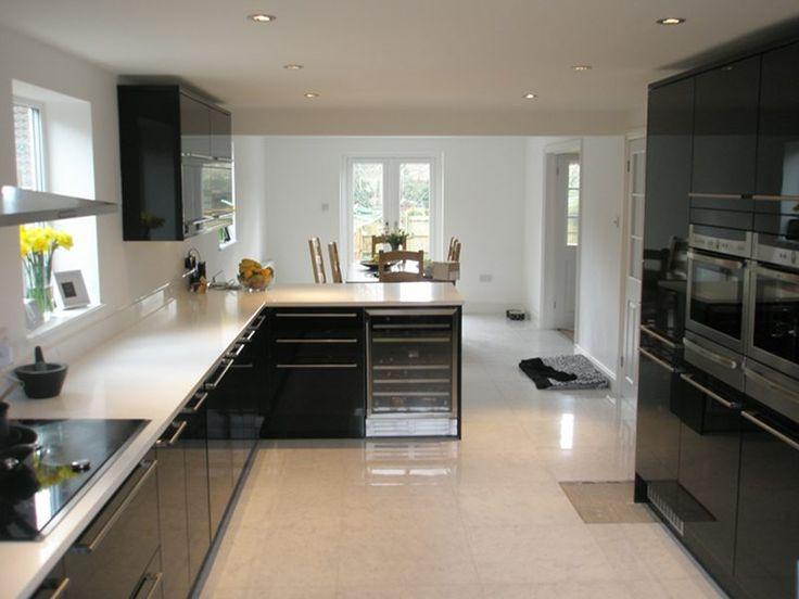 open plan kitchen diner - Google Search