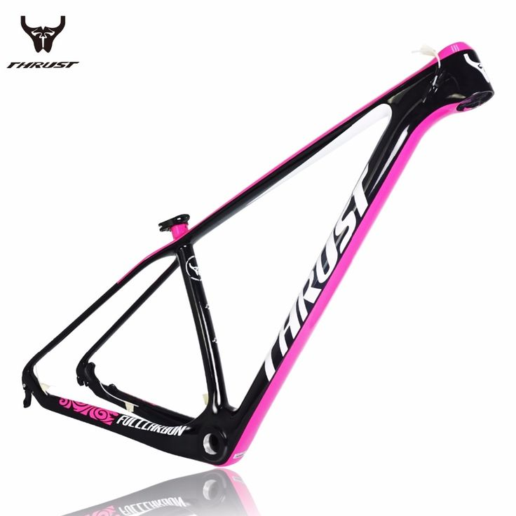 243.60$  Buy now - http://alictt.shopchina.info/1/go.php?t=32788310839 - THRUST COULDS PINK 29er Chinese Carbon Frames 15/17/19 Inch 29 Carbon Mountain Bike Frameset Free Shipping Carbon MTB Frame  #magazineonline