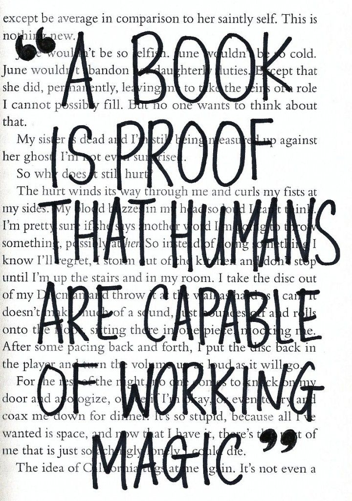 """""""A book is proof that humans are capable of working magic."""" - Carl Sagan"""