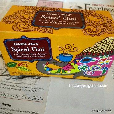 Trader Joe's Spiced Chai $2.49 | #TraderJoes #Spice #Chai