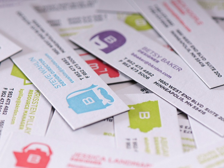 Best Letterpress Business Cards Images On   Business