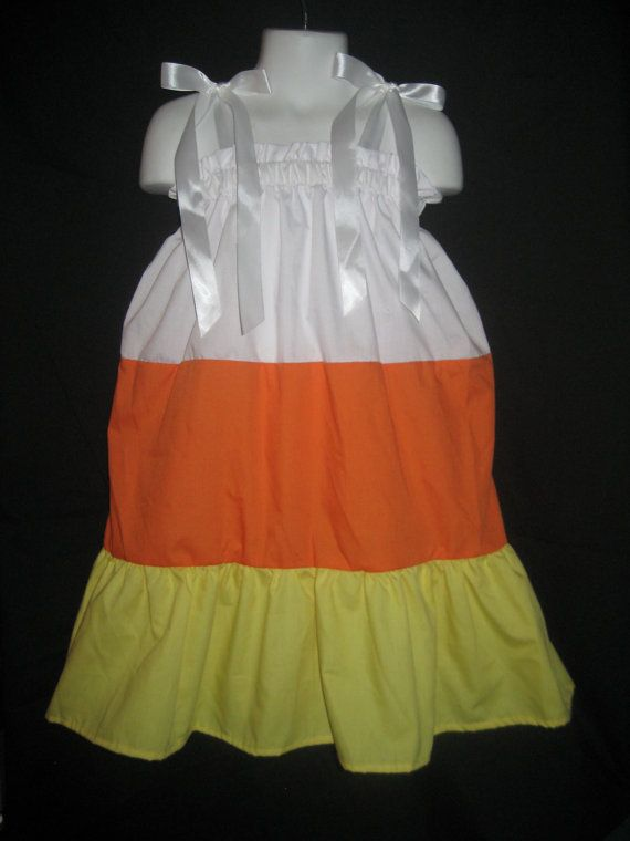 Pillowcase Dress Candy Corn Halloween by littlemimisboutique OR use yellow leggings orange skirt and white & 179 best pillowcase dress images on Pinterest | Pillowcase dresses ... pillowsntoast.com