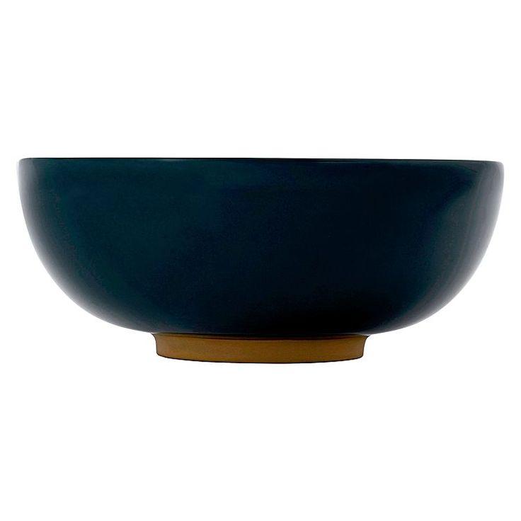 Olio Dark Blue Glaze Bowl