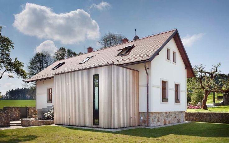 Stará chalupa se proměnila v nádherný a funkční rodinný dům