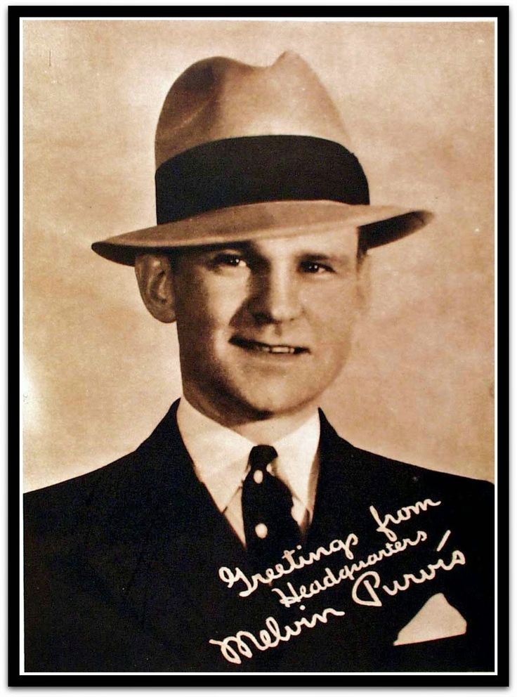 Famous US Federal law agent/FBI agent Melvin Purvis was born today 10-24 in 1903. He's noted for leading many of the manhunts for 30s outlaws like Baby Face Nelson and Pretty Boy Floyd as well as John Dillinger. He passed in 1960.