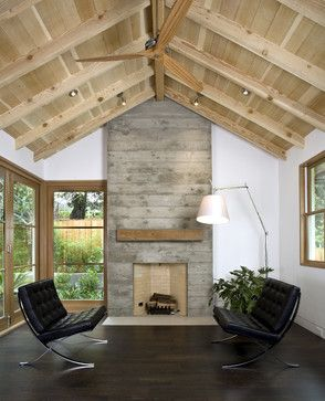 Custom Agrarian Style Residence - transitional - Living Room - San Francisco - Arcanum Architecture