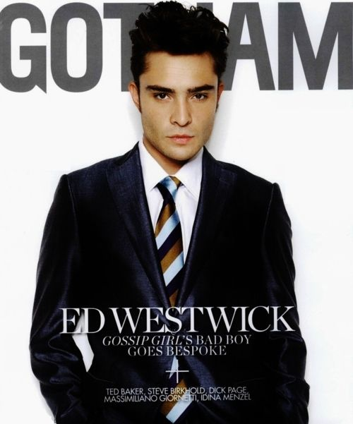 in love ... Oh how handsome he is- and he plays such a perfect chuck bass!