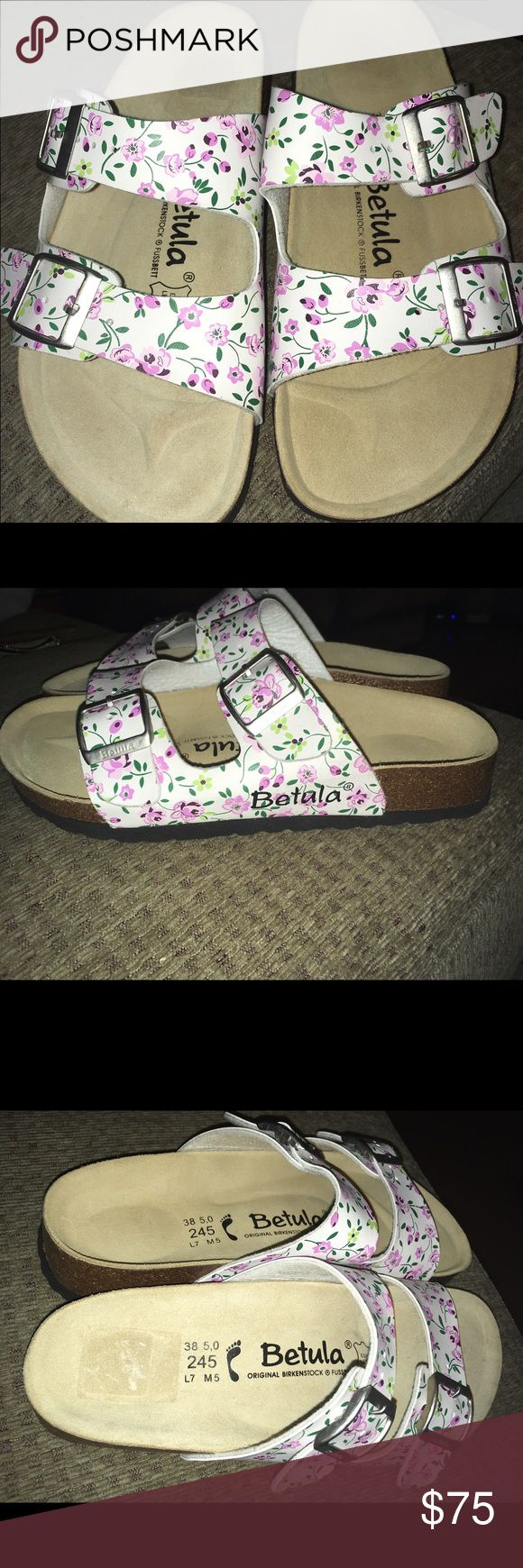 New Birkenstock Betula Sandals Size 7 Here is a New Birkenstock Betula Sandals Size 7. It is new without box Birkenstock Shoes Sandals