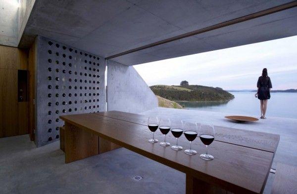 Wine Station Wine Cellar | Map Architects | Northland Region, New Zealand