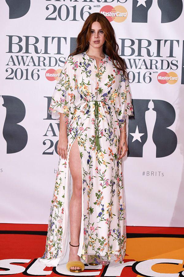 Lana Del Rey at BRIT Awards 2016