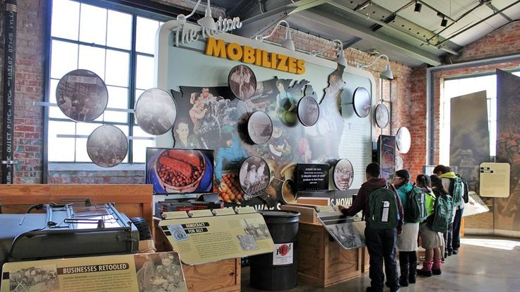 Photo of  the Visitor Education Center Rosie the Riveter WWII Home Front National Historical Park California