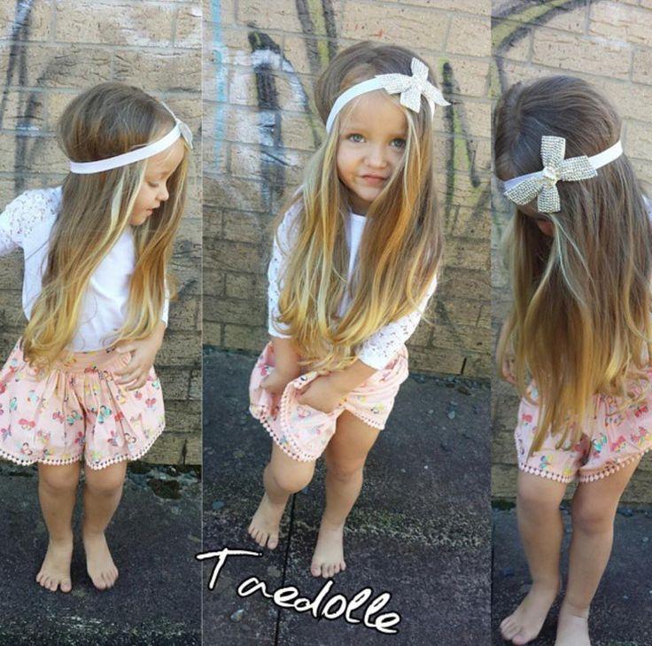 White Diamonds Bow Headband
