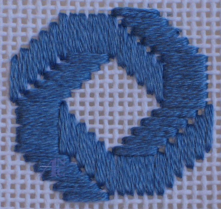 Bargello Needlepoint | ANG: American Needlepoint Guild - Stitch of the Month - January 2008