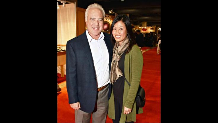 Jeffrey Lurie and his wife Tina Lai