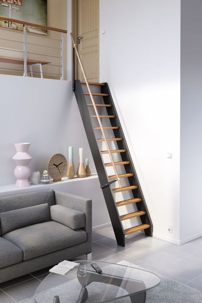 les 25 meilleures id es de la cat gorie petit escalier sur pinterest escalier de loft. Black Bedroom Furniture Sets. Home Design Ideas