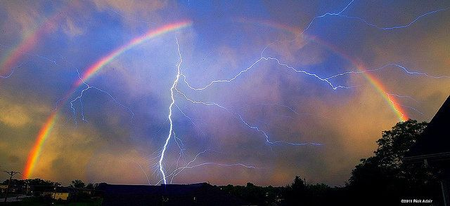 rainbows and lightning - Google Search