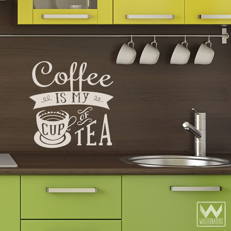 Kitchen Wall Art Decal