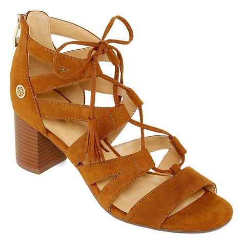 2e6db395b18b Liz Claiborne Tacey Womens Heeled Sandals - JCPenney