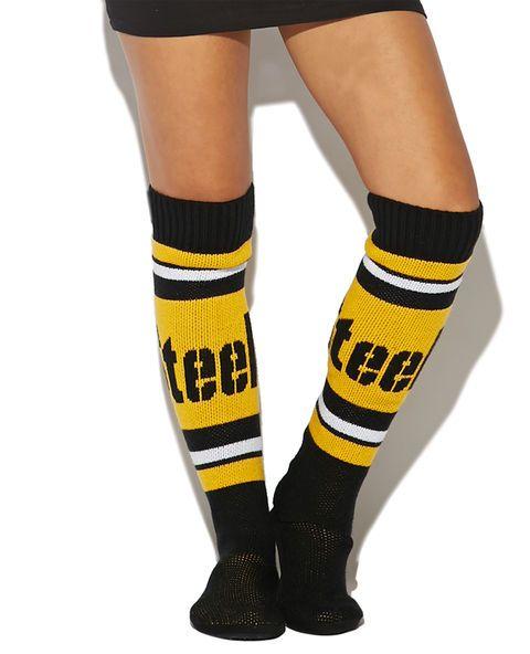 NFL Steelers Knee Slipper Socks