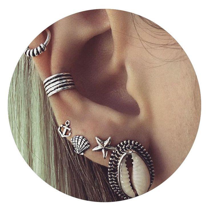 Beautiful Bohemian Ocean Earrings
