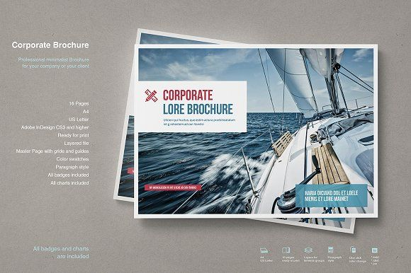 Business Brochure by TypoEdition on @creativemarket