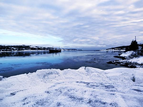 Winter in Harbor Grace by Zinvolle. Photo taken at Harbor Grace, Newfoundland, Canada