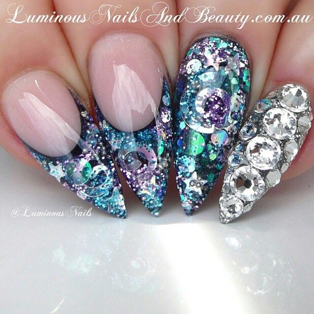 """""""See more and learn more ...  Credit to @luminousnails @luminousnails @luminousnails"""""""