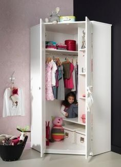 free standing closet in a corner - ALTA CORNER CLOSET