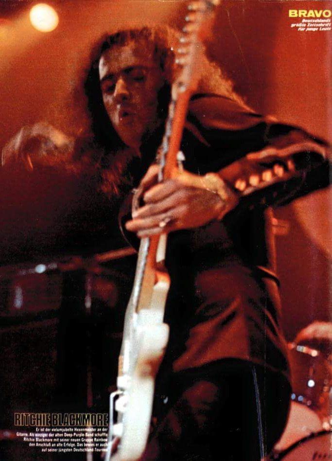Ritchie Blackmore-Rainbow and Deep Purple........