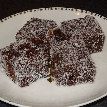 Quick and easy lamingtons recipe - Everyone in my family loves lamingtons, but store-bought lamingtons are not cheap, by any means. This weekend one of my sons and I made a batch of lamingtons and I was surprised at how easy it is to make your own. So I am sharing this project with you - and believe me when I say that anyone can make them!  - See more at: http://www.home-dzine.co.za/cooking/cooking-lamingtons.htm#sthash.yPbVnSKg.dpuf