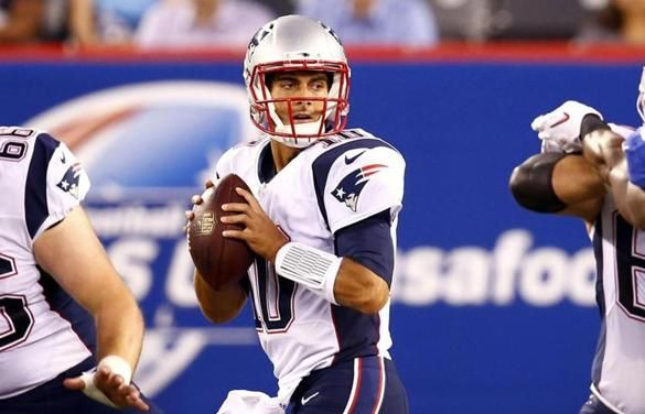 Jimmy Garoppolo has earned Patriots' backup QB job - The Boston Globe